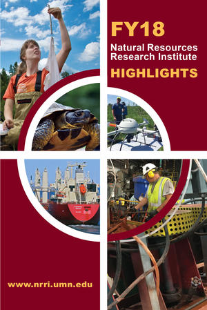 Cover image of annual report.